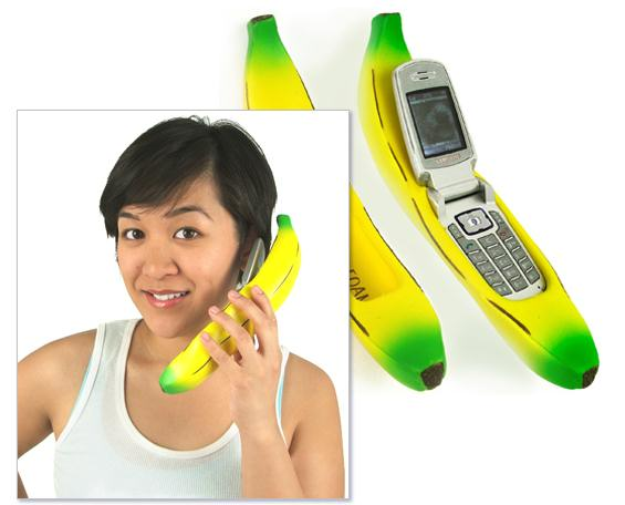 Banana Cell Phone Holder